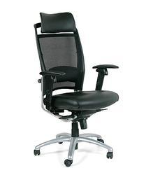 Кресло для руководителя Е281А Самая эргономичная модель ассортимента