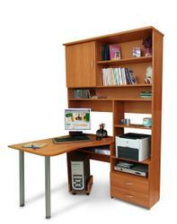 Компьютерный стол-стеллаж Идея