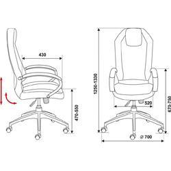 Кресло для руководителя Аура