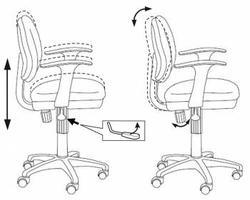 Кресло для детей СН-W 356SL