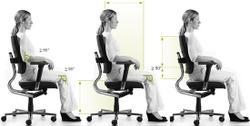 Кресло компьютерное Дуо-Бэк Баланс (DUO-BACK BALANCE ® / MONO BALANCE ®) (ортопедическое)