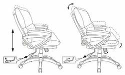 Кресло для руководителя СН 890s (low)